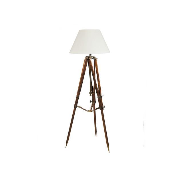 Interiors Online Campaign Tripod Lamp