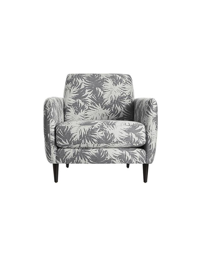 CB2 The Hill-Side Palm Leaves Parlour Chair