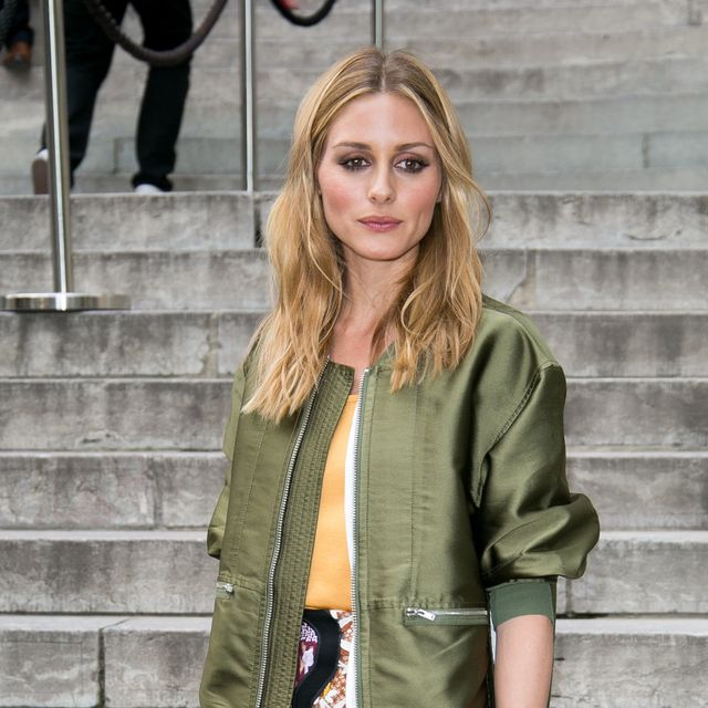 Olivia Palermo's Green Bomber Jacket Can Be Yours