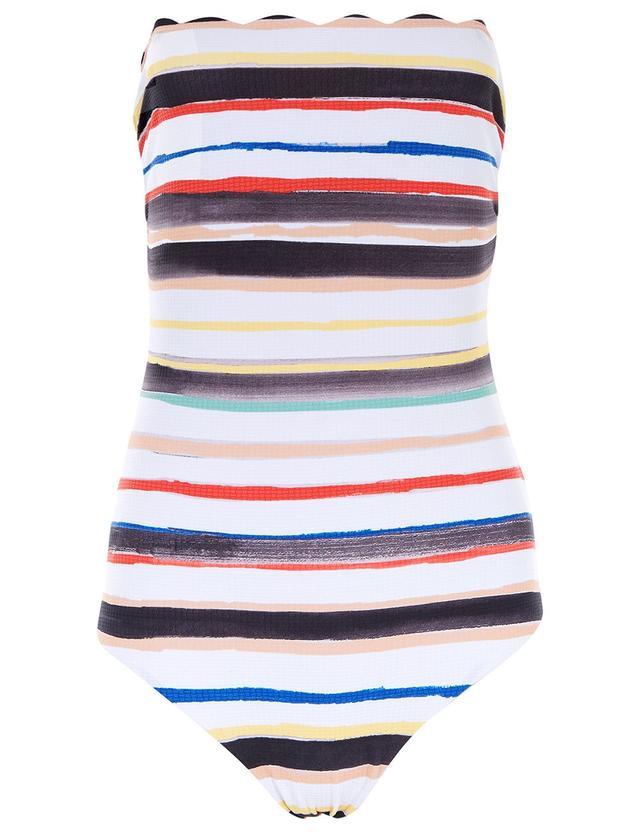 Marysia Swim Multi Striped Swimsuit