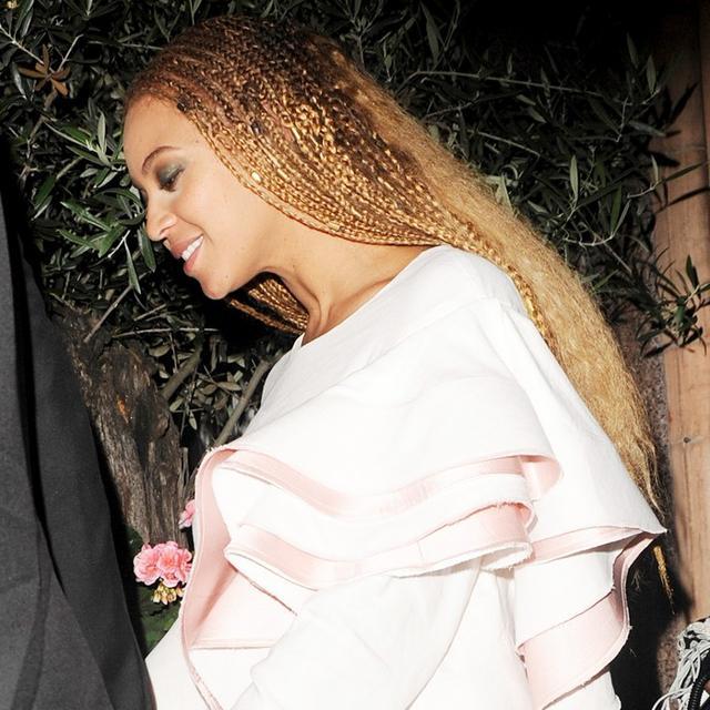 The Designer Behind Beyoncé's Ruffled Date-Night Dress