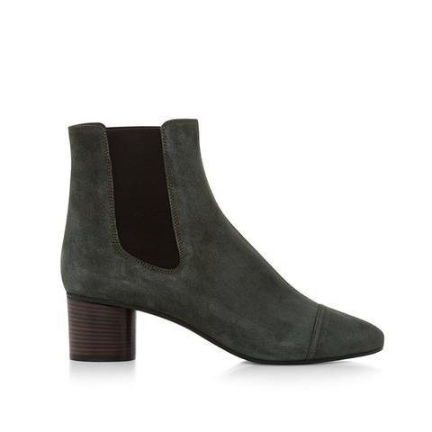 Danae Velvet Ankle Boots