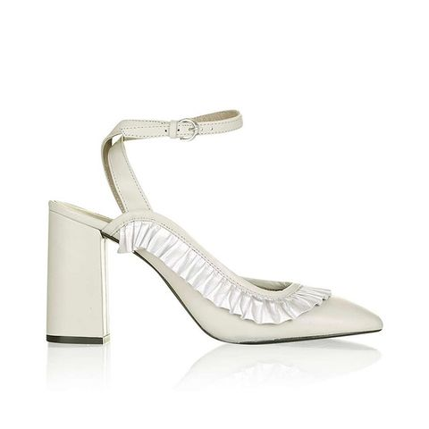 Gosh Frill Detail Heeled Shoes