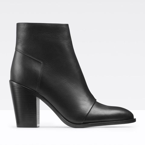 Ennis Leather Ankle Boots