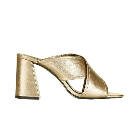 Riot Flared Mules