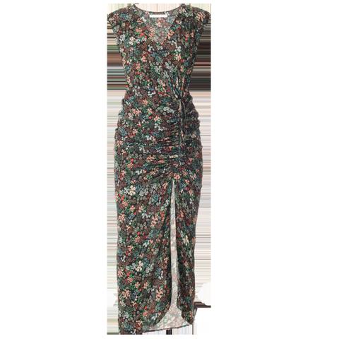 Teagan Ruched Midi Dress