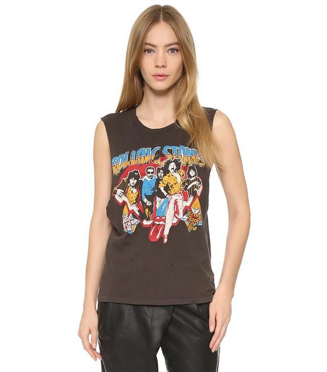 Madeworn Rock Rolling Stones UK Tank