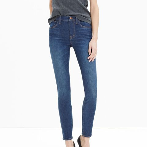 High-Rise Skinny Jeans in Surfside Wash