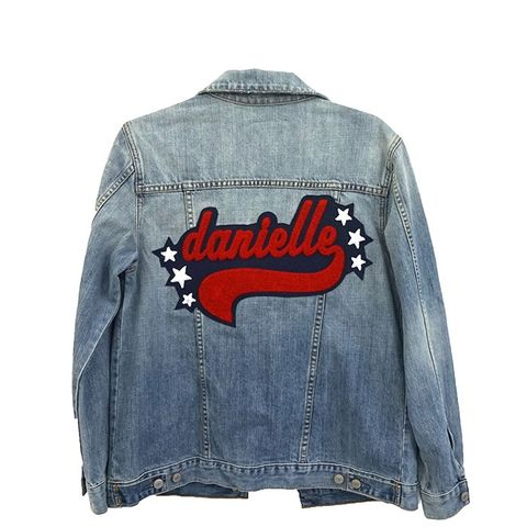 Knox Medium Vintage Wash Personalized Jacket