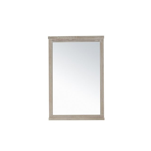 Freedom Cancun Mirror 90x60cm in White Wash