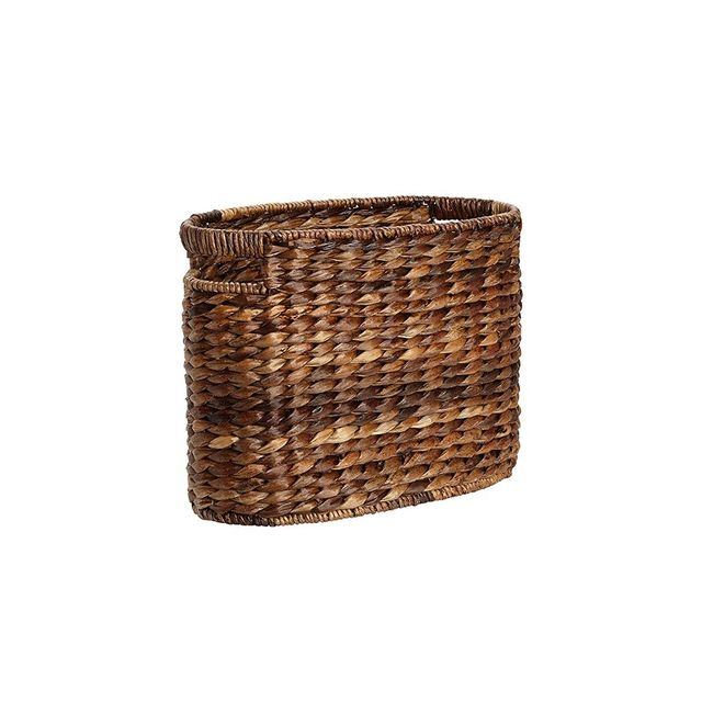 Pottery Barn Havana Oval Magazine Basket