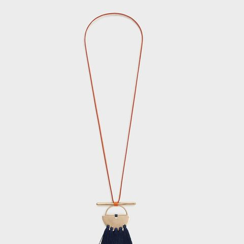 Tassel Bead Necklace