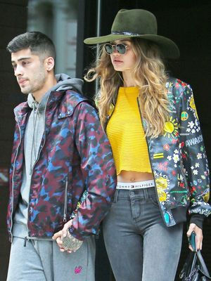 Gigi Hadid and Zayn Malik Just Mastered Coordinated Couple Style