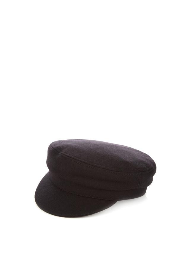 Isabel Marant Étoile Evie Flannel Wool-Blend Cap