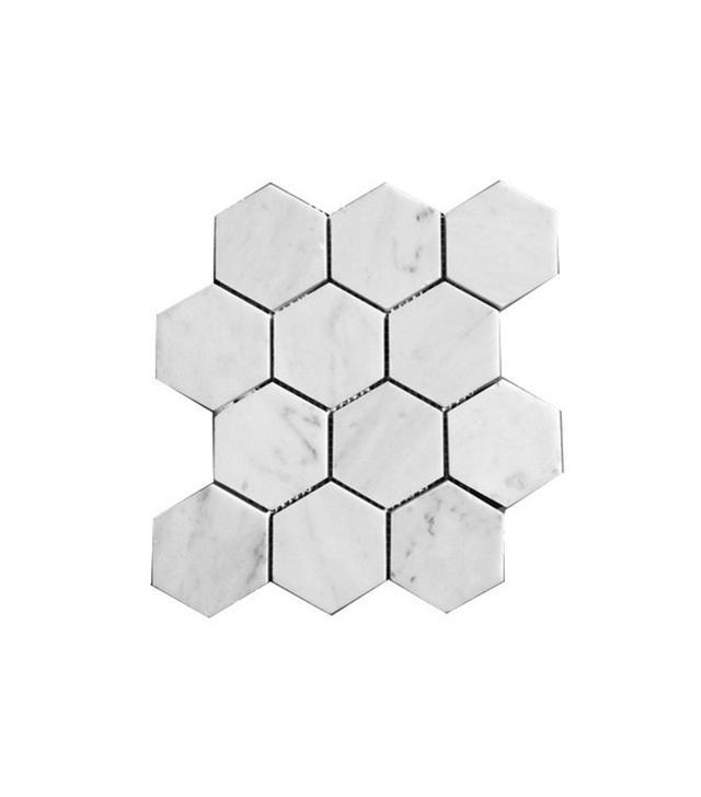 Stone Center Carrara White Marble Tile Sheet