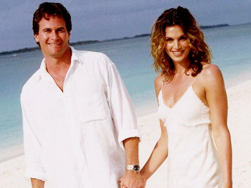Cindy crawford husband wedding pictures