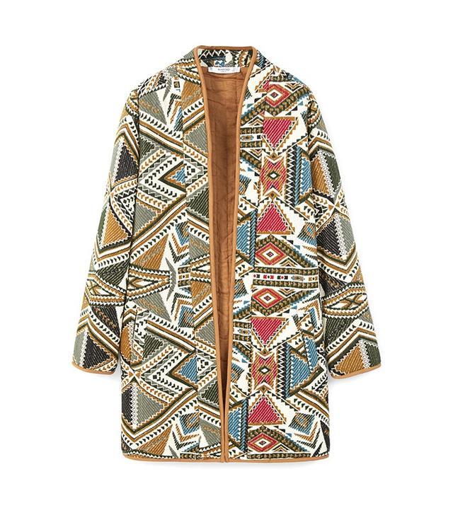 Mango Embroidered Jacket