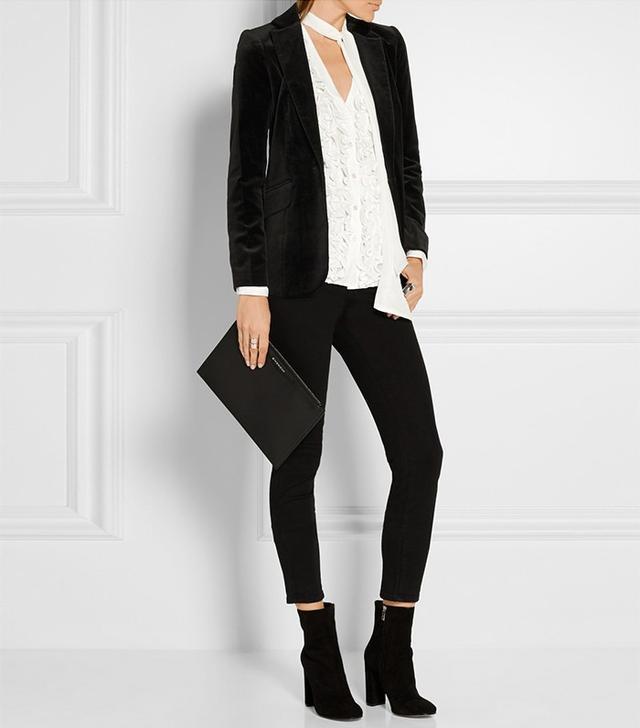 Frame Le Velvet Blazer