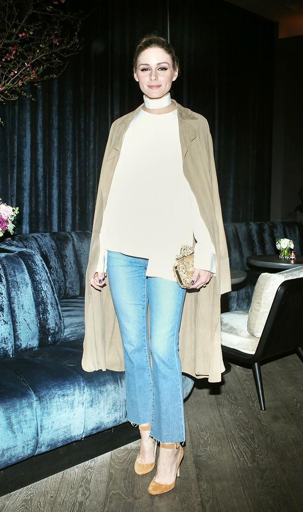 On Olivia Palermo:Paige jeans.