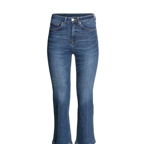 Cropped Flare High Jeans