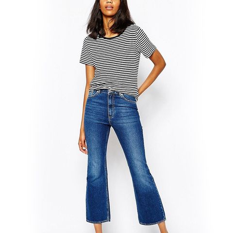 Cropped Jean Flare