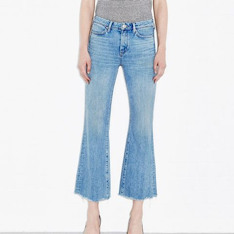 Lou Jeans High Rise Cropped Bell