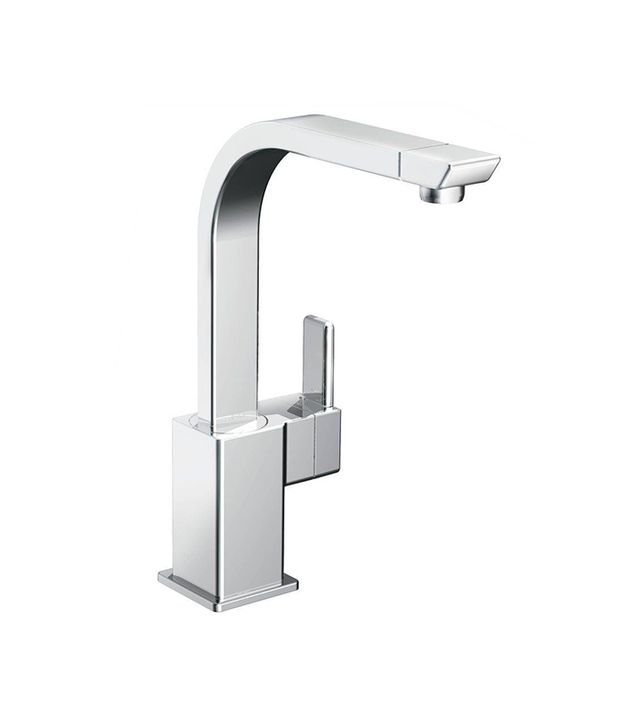 90-Degree High-Arc Single-Handle Standard Kitchen Faucet