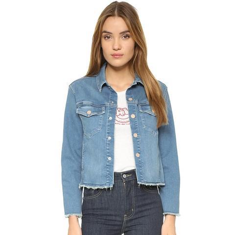 Straight A Fray Jacket