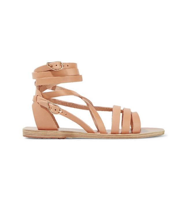 Ancient Greek Sandals Samira Leather Sandals