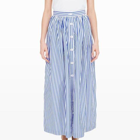 Stripes Peasant Skirt