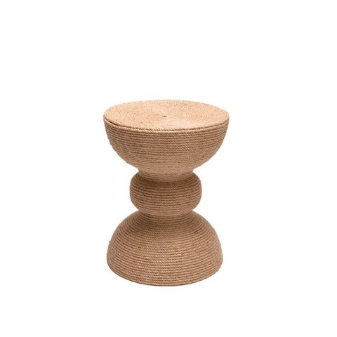 Jute Covered Stool