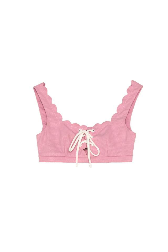 Marysia Swim Fwrd Exclusive Palm Spring Lace Up Bikini Top