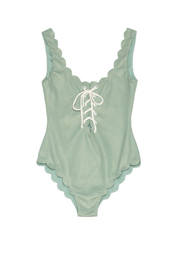 Marysia Swim Fwrd Exclusive Mott Lace Up Swimsuit