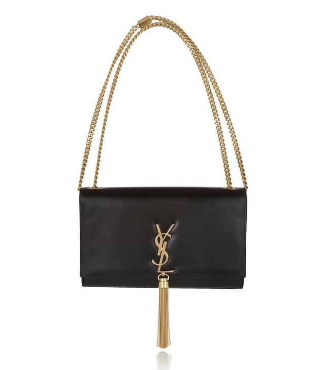 Saint Laurent Monogramme Leather Shoulder Bag
