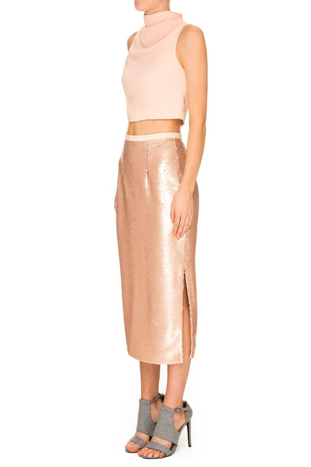 Keepsake Blame It On Me Sequin Skirt