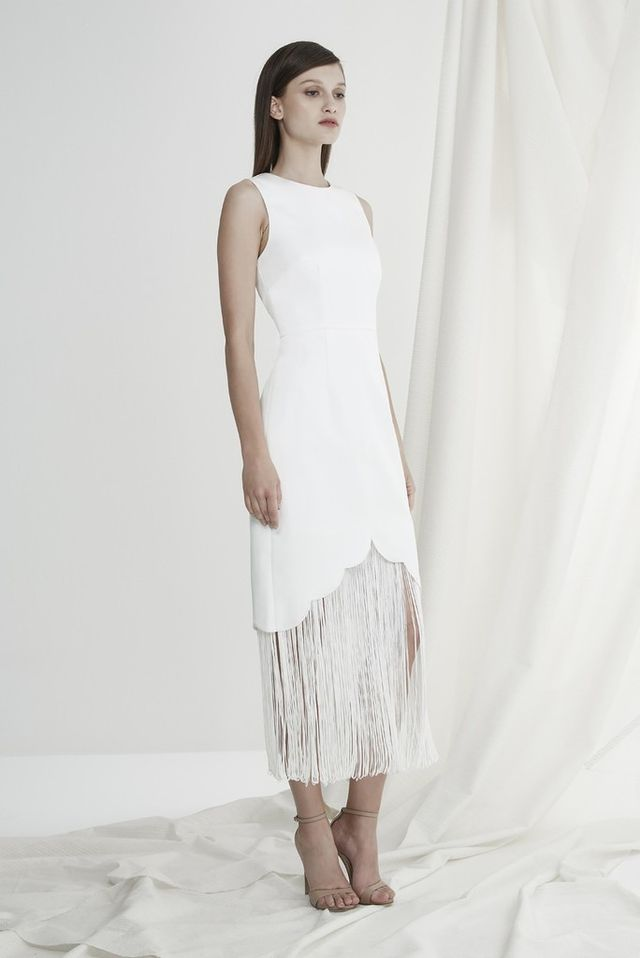 Keepsake The Other Side Dress in Ivory