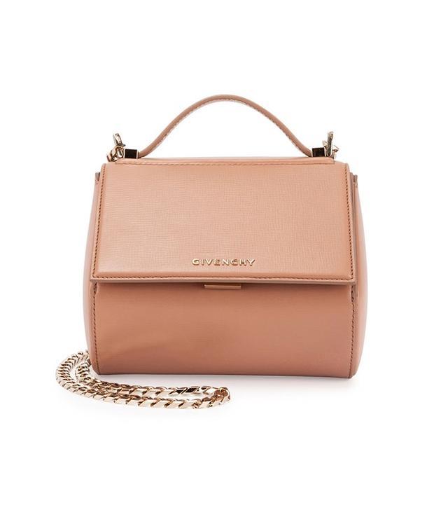 Givenchy Pandora Box Mini Chain Shoulder Bag in Pink