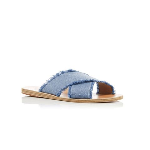 Thais Light Denim Sandals