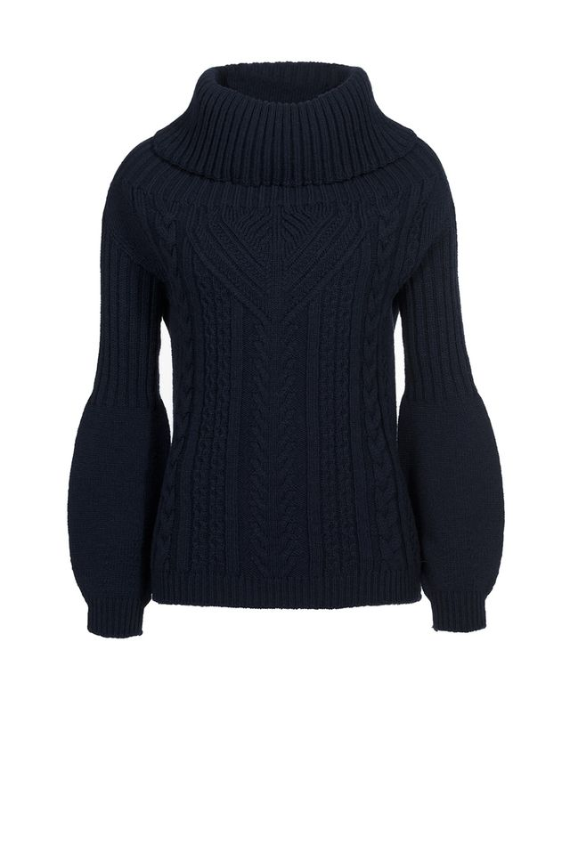 Pinko Wool Blend Knit Shirt