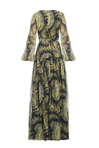 Pinko Paisley Georgette Dress