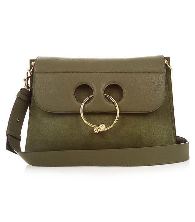 J.W.Anderson Pierce Large Leather Shoulder Bag