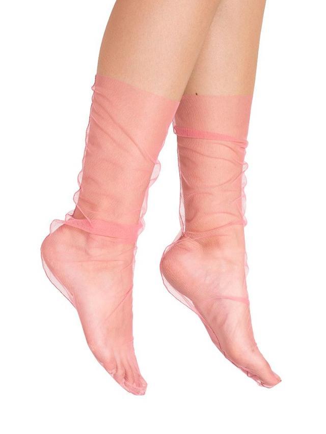 Pan & the Dream Pink Tulle Socks