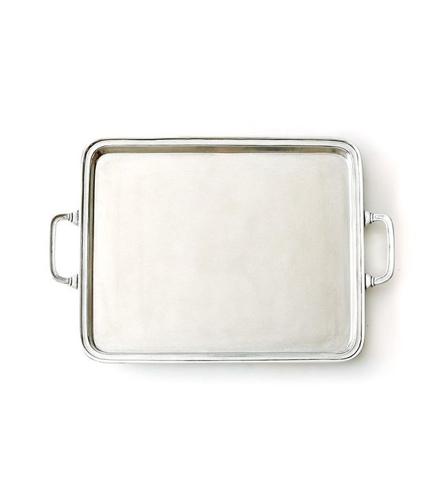 Match Large Rectangle Pewter Tray
