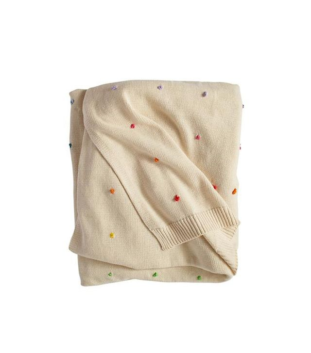 Land of Nod Candy Dot Baby Blanket