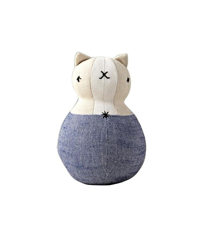 Land of Nod Cat Wobble Rattle