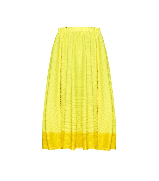 Issey Miyake Pleats Please Citrus Fruits Pleated Skirt