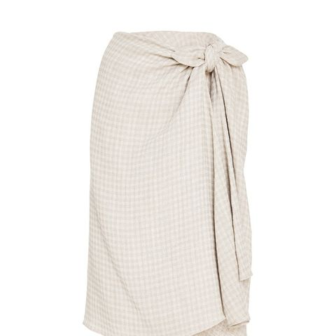 Gingham Twill Sienna Skirt