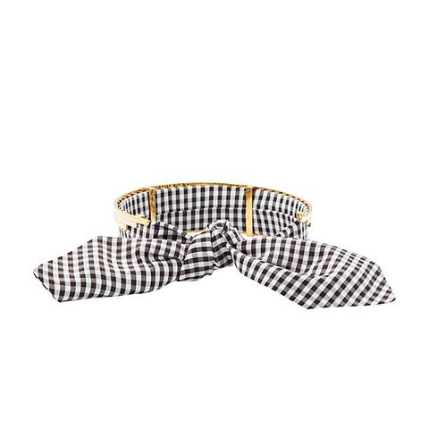 Bandita Gingham/Metal Chocker