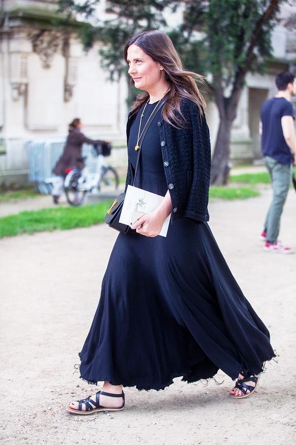 Maxi Dress  + Sandals