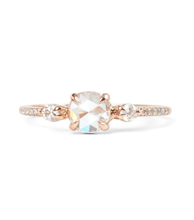 Catbird Odette the Swan Engagement Ring